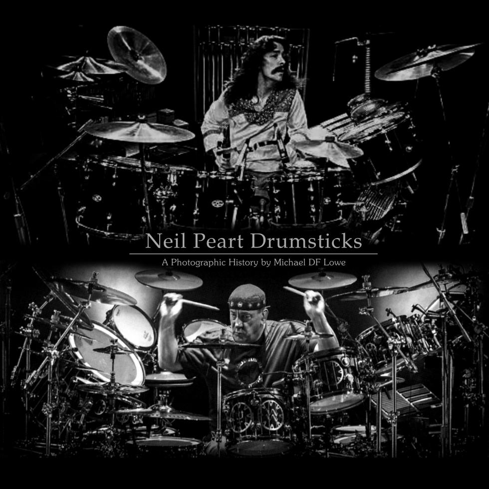 Promark Neil Peart Rush Time Machine Tour Drumsticks